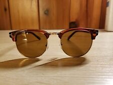 Tom Ford style clubmaster sunglasses