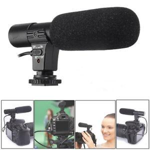 Pour-Nikon-D7000-D300s-D5100-D5300-D3300-D3200-3-5-mm-Video-Numerique-stereo-Microphone-MIC