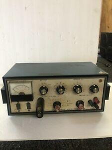 Heathkit-Sine-Square-Wave-Audio-Generator-model-IG-5218-Working