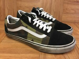 f9f895c7 Details about RARE🔥 VANS Old Skool Woodland Camo Black Toe Sz 11 Men's  Skateboarding Shoes