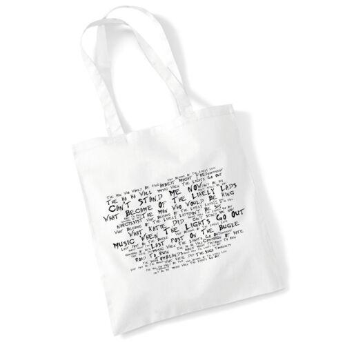 ART Studio Tote Bag i testi libertini stampa ALBUM Poster Spiaggia Shopper Regalo