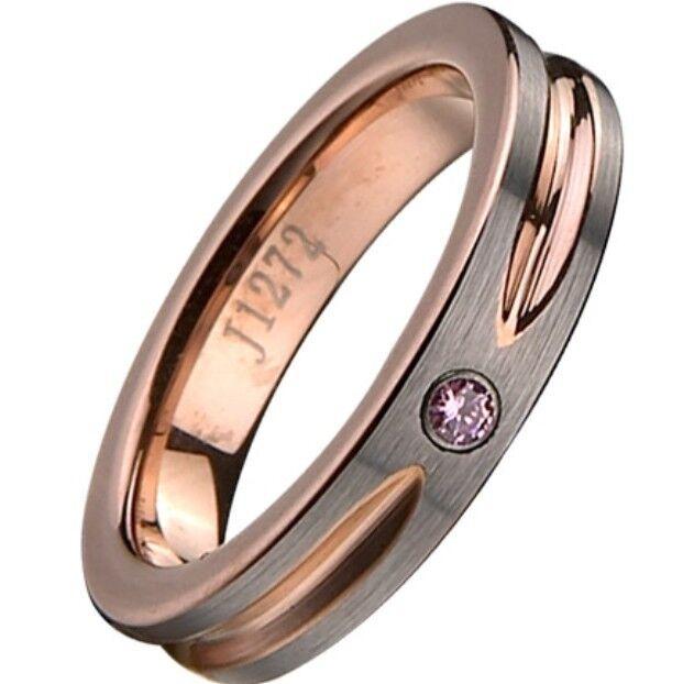 Size 5-15 6MM TUNGSTEN Carbide Ring Rose Gold Wedding Engagement Matte Brushed