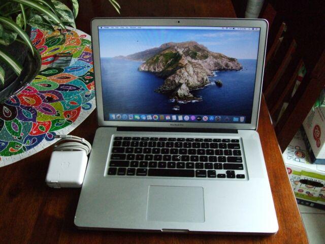 "Apple MacBook Pro A1286 15.4"" 2009 core 2 duo 2.8Ghz 8GBram 640GBhd+Bonus read!"