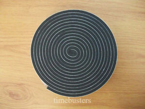 3m Black Double Sided Foam Tape Closed Cell 10mm Wide X 4.5mm Thick