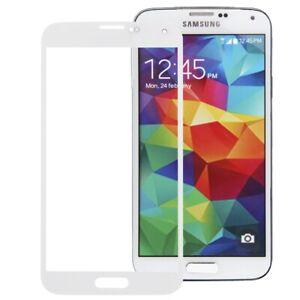 Écran en Verre Devant de Remplacement Samsung Galaxy S5 i9600 SM-G900F Réparer W