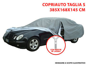 TELO COPRIAUTO COPRI AUTO FELPATO IMPERMEABILE TG S DAIHATSU TREVIS 06/>