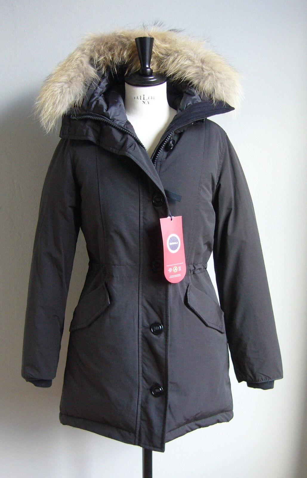 5966124132d820 Damen Arctic Parka Winter Jacke MATOGLA 7602 Gr. M XL schwarz Mantel  Echtfell ntszvp3755-neue Kleidung