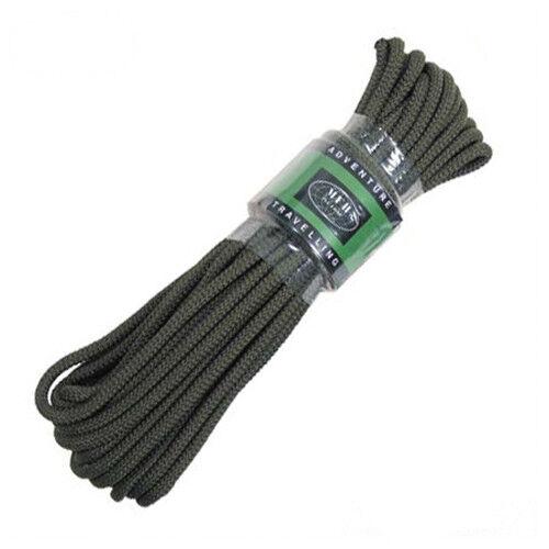 Commando Seil Schnur Tau Kordel Fangseil Leine Strick 5 7 9 mm 15m o 60m Rope