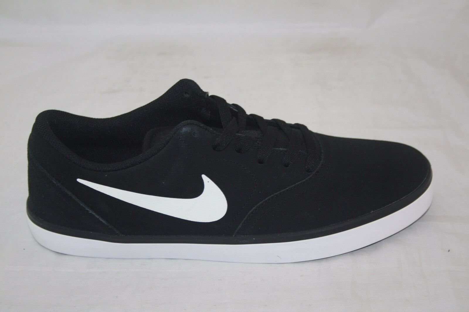 NIKE MEN'S SB CHECK 705265-004 BLACK WHITE SIZE 10.5 MSRP  70.00