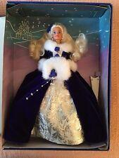 Vintage 1993 BARBIE WINTER PRINCESS BEAUTIFUL IN ROYAL BLUE VELVET - NRFB
