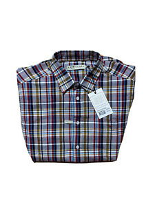 NWT-R-M-Williams-Mens-Shirt-Collins-Long-Sleeve-Check-Size-XL-RRP-129