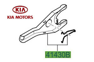 Genuine-Kia-Ceed-2006-2016-Clutch-Release-Fork-4143023200