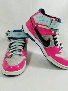 3a392d02e156 NIKE Womens Air Mogan Mid 2 Sneaker Multicolor Neon Shoe 407479-036 ...
