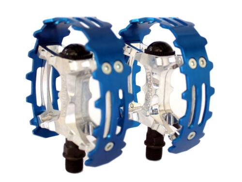"9//16/"" Wellgo BMX XC-II bear trap pedals 1//2/"""