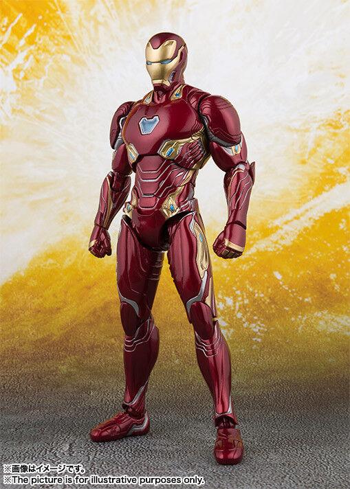 Bandai S.H. Figuarts Iron Man MK-50 (Guerra de los Vengadores Infinity) versión de Japón