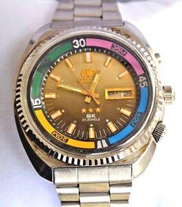 Watch King De Orient Caballero Detalles Reloj Sk Diver Men's Jumbo Automatico PmNn0wyv8O