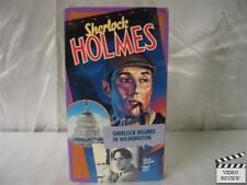 Sherlock Holmes in Washington VHS Basil Rathbone