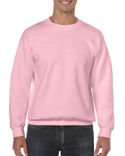 Plain Sweater FAST DISPATCH 42 Colours GILDAN HEAVY BLEND SWEATSHIRT GD56