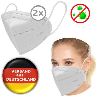 2x FFP2 Wiederverwendbar Atemschutz maske Schutzmaske ...