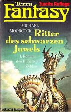 "Michael Moorcock - "" Runenstab-Zyklus 1 - Ritter des schwarzen JUWELS (1978) tb"