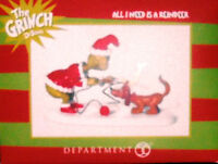 Department 56 Collectible Figurine Grinch Village All I Need is a Reindeer Toys