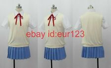 Anime K-On Yui Girls Uniform Cosplay Costume Custom