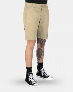DICKIES-Shorts-Skinny-Straight-Desert-Sand-Work-Short-WR801AU