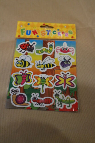 8 Packs Fun Stickers Kids Boys Girls Birthday Party Loot Bag Filler Toys Pinata