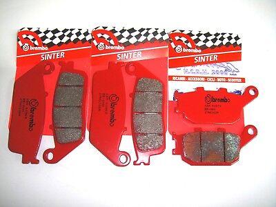 4 FRONT BRAKE PADS BREMBO SA RED SINTERED 07HO30SA HONDA CBR F-ABS 600 2013