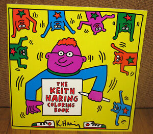 Like New The Keith Haring Coloring Book Artist Art 1992 1st ED PB | eBay
