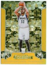 2015-16 EXCALIBUR KARL-ANTHONY TOWNS CAMO ROOKIE RC #19 CRUSADE PRIZM SSP RARE