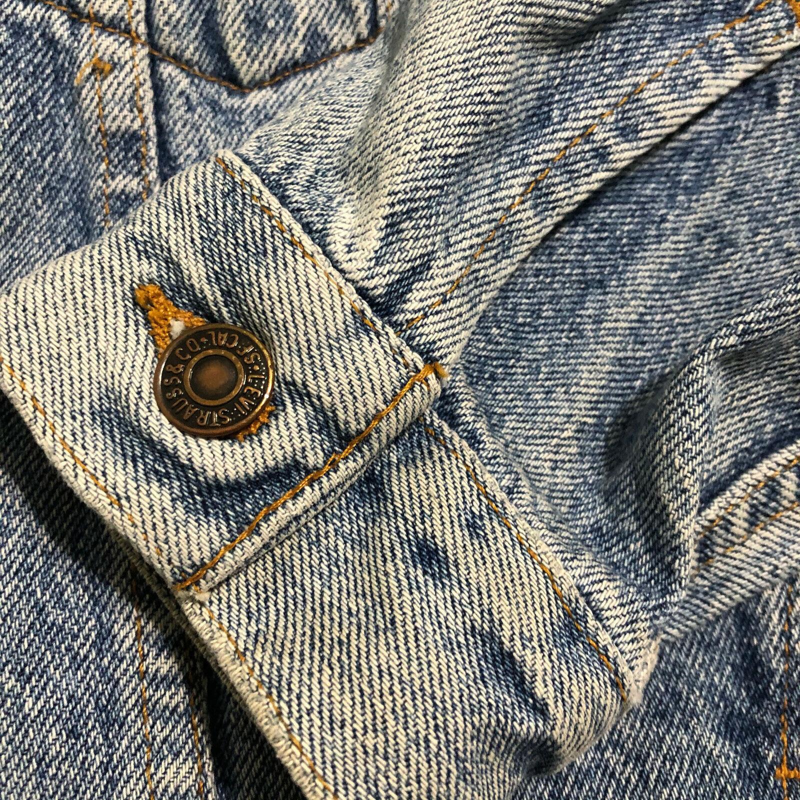 Vintage 80 90's LEVIS 70598-4891 USA Acid Washed … - image 4