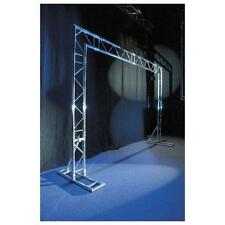 Showtec Mobile DJ Truss Stand Messestand mobiles 2-Punkt Traversensystem