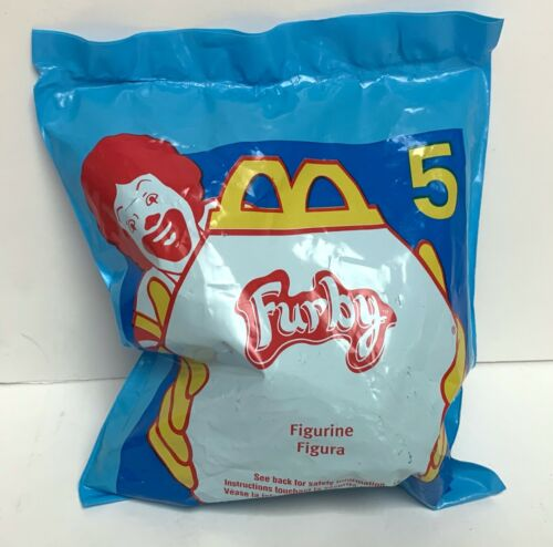 Vintage VARIETY of McDonalds Happy Meal Furby Toys Available Your Choice