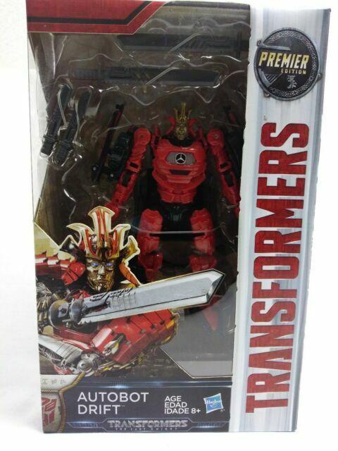Hasbro Transformers Knight Last Age Premier Edition Autobot Drift Deluxe Figure