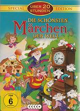 25 MÄRCHEN & ABENTEUER Ali Baba POCAHONTAS Dschungelbuch ASCHENPUTTEL .. DVD Box