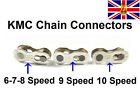 2 PAIRS KMC 6/7/8 & 9 &10 Speed Missing Link Quick Link Chain Link Join Link