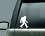 miniature 4 - Big Foot Sasquatch Yeti Decal Sticker Car Truck SUV  Bumper Wall Laptop Tablet
