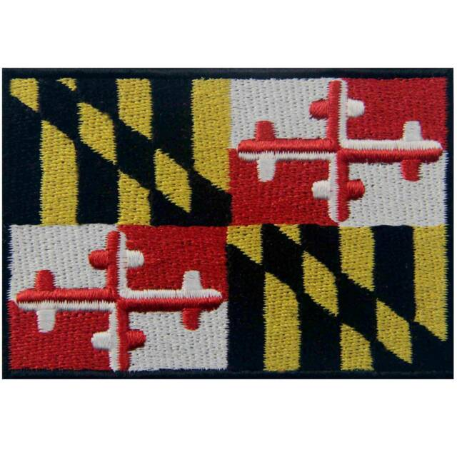 National World Country Emblem Flag Embroidered Sew On Patch Badge 6 Si OAZY