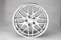 18 M3 Style Csl Hyper Silver Wheels Rims Fits Bmw 3 Series E60 Awd Non Stagger