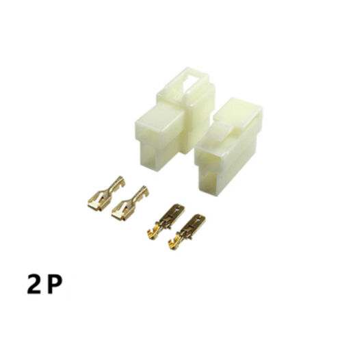 1-21 Way Pin 6.3mm Car Electrical Wire Plug Jack Connector Terminal Block Kits