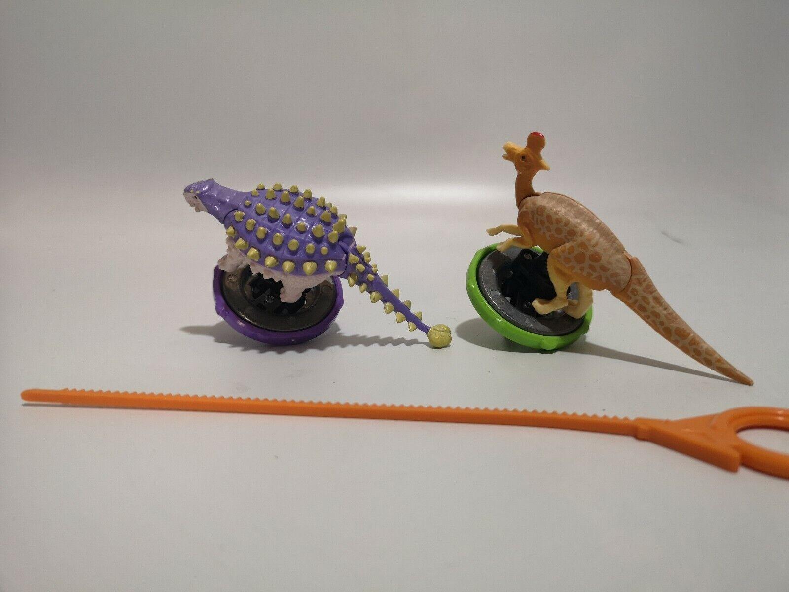 RARE locale PLAYMATES giocattoli Dinosaur re-Filatura ATTACCO MINI  GIOCO  spedizione veloce e miglior servizio