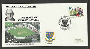 GB 1994 SUMMERTIME LORD'S CRICKET GROUND FDC Sussex Pictorial Postmark
