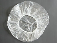 Disposable Clear Shower Caps 10 Large 24