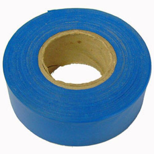 Blue 1 3//16 Inch x 300 Foot Flagging Tape 6-Pack