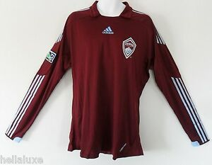 nwt~Adidas COLORADO RAPIDS MLS USA FORMOTION Soccer footbal shirt ... 32104786e