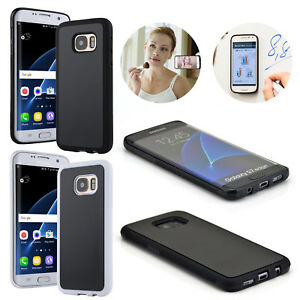 new styles c99ed ae398 Details about Anti-Gravity Nano Suction Sticky Selfie Case Cover For  Samsung S9 S8 Plus Note 8