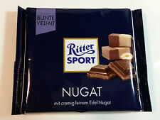 Ritter Sport  - NUGAT - 3.5oz - 100g - MADE IN GERMANY - BEST PRICE