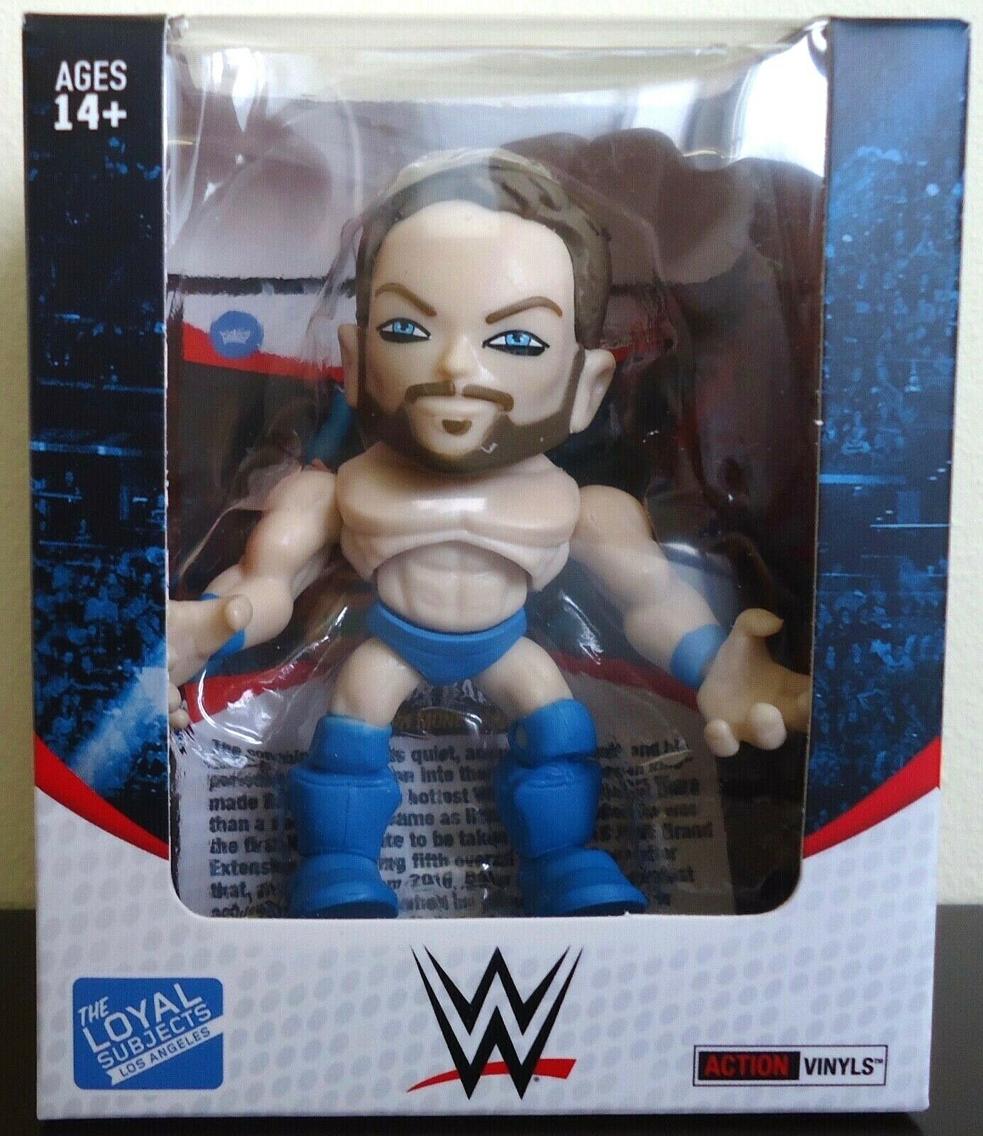 WWE The Loyal Subjects Action Vinyls FINN FINN FINN BALOR W MB 1 96 blu SHORTS RARE ea6f11