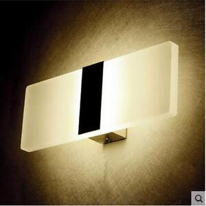 Details About Mini Wall Mounted Bedside Lamp Night Light Bedroom Lighting Modern Home Decor